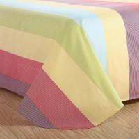 直销 纯棉加厚磨四件套  床单 枕套 被套 不掉色