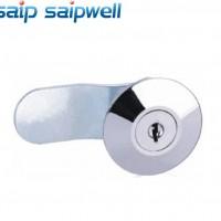 SP-MS401-1锌合金钠米喷漆机械门锁 左右通** 圆角球形锁
